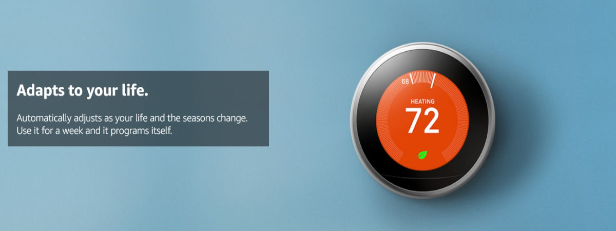 3 steps to program nest learning thermostat