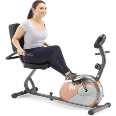 Marcy Recumbent Bike with Resistance USA 2021
