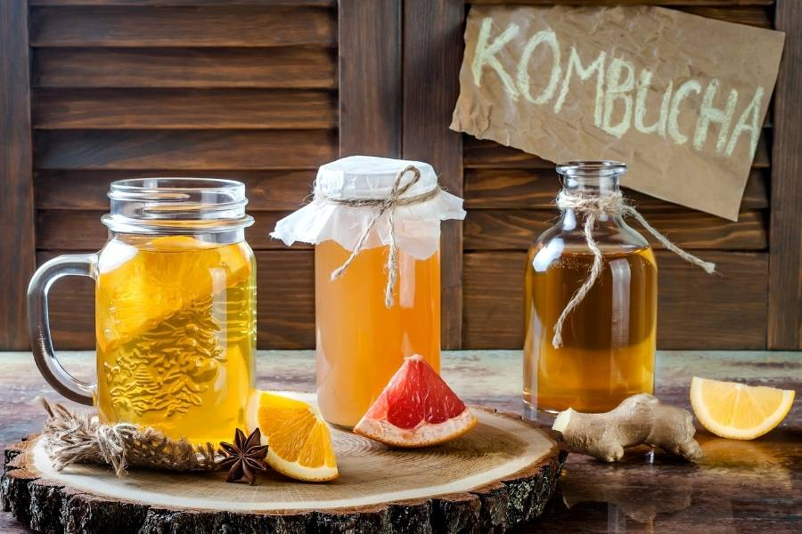 Kombucha Contains Caffeine